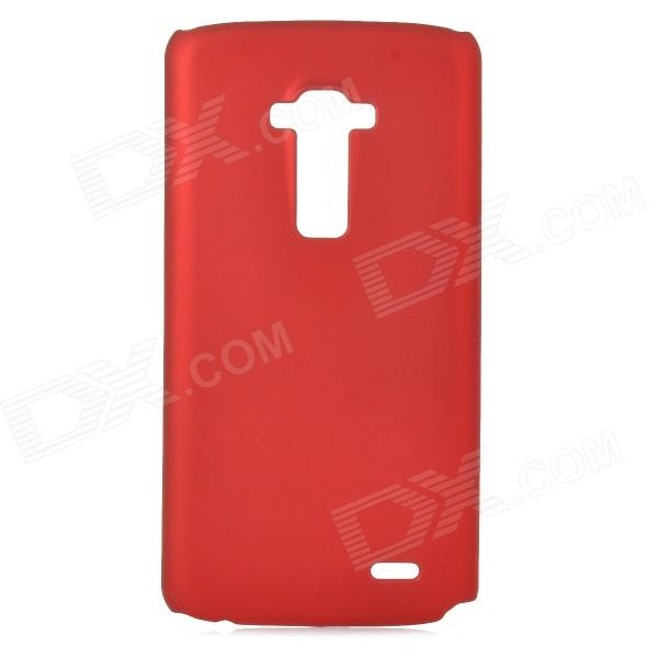 Protective Frosted PC Back Case for LG G Flex D958 - Red