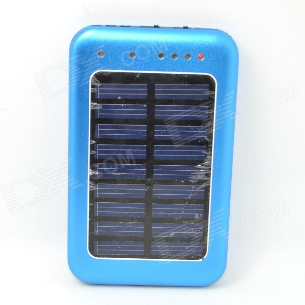 Solar Powered 2600mAh External Battery Charger Power Source Bank solar battery powered butterfly random color