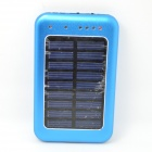 "Solar Powered ""2600mAh"" External Battery Charger Power Source Bank"