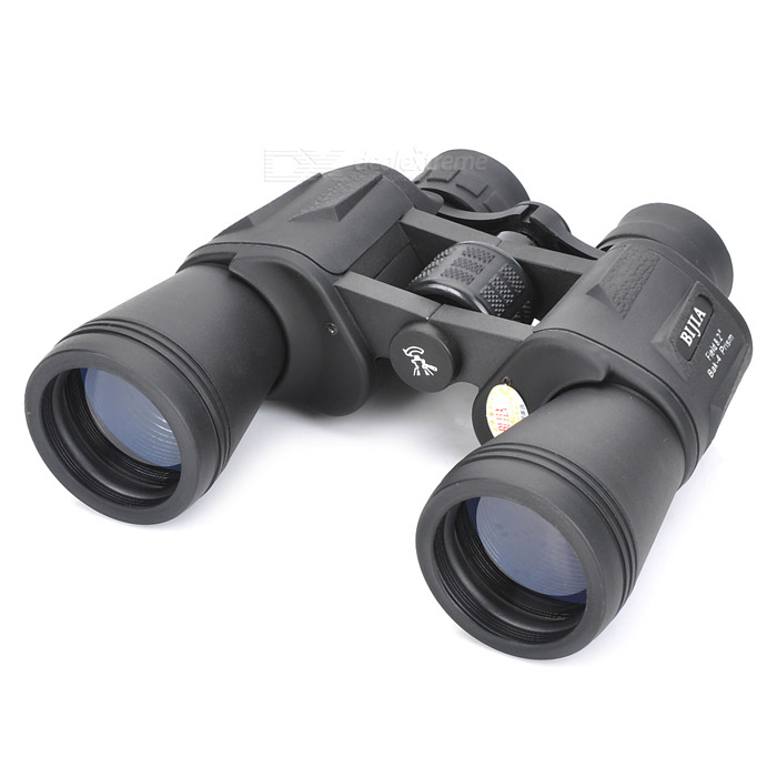 BIJIA20x50 Super Eyepiece High-power High-definition Night Vision Binoculars - Black