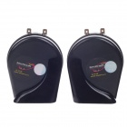 DUSOUND HK-901 Car Audio Fanfare Horn Speaker - Black (12V / 2.5A x 2)