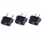 CM001 Universal US to EU, EU to US, AU Plug Adapter (2.5~250V / 3PCS)