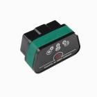 Vagte l Super Mini iCar2 Vehicle Wi-Fi OBD-II Code Diagnostic Tool / Clearer - White + Green