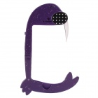 The Sea Lion Shape Shell Border Protection Shell for IPhone 5 - Purple + Black + White