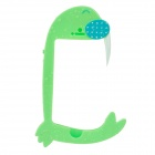 The Sea Lion Shape Shell Border Protection Bumper Frame for IPhone 5 - Green + Blue + White