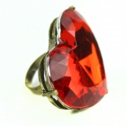 Big Red Heart-Shaped Ring