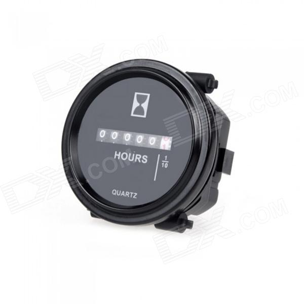 Eastor Mechanical Hour Meter Gauge Timer for Gasoline Engines Diesel Generators Electron (DC 8~80V)