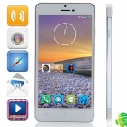 "JIAKE X3s MTK6592 Octa-Core Android 4.2.2 WCDMA Bar Phone w/ 5.0"" OGS HD, OTG, GPS - White + Silver"