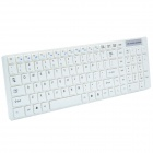 CHEERLINK 2.4Ghz Super Slim 104-clés Claviers sans fil w / Touch Mouse Upgrade 2 - Blanc