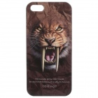 C100002 Animal Series Sabre Wulf Style Protective Plastic Back Case for IPHONE 5 / 5S