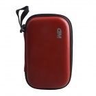 "Portable Protective Hard Shockproof Bag Case for 2.5"" Hard Disk Drive - Red"