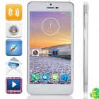 "JIAKE X3s MTK6592 Octa-Core Android 4.2.2 WCDMA Bar Phone w/ 5.0"" OGS HD, OTG, GPS - White + Golden"