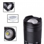 RichFire SF-118B 800LM 5-Mode LED Zoom Foco Mini Lanterna - Preto (1 x 18650)