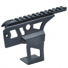 20mm Rail Aluminum Alloy Scope Mount Base for AK47 - Black