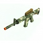 CB888564 Suction Cup Soft Gun - Army Green Camouflage