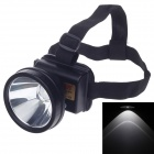 GEBANG GB-168 3W 280LM 2- Mode High Light Waterproof Outdoor Headlamp - Black
