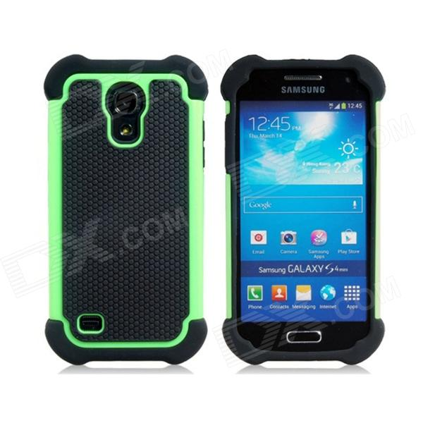 2 in 1 Sports Ball Skin Plastic & TPU Protective Case for Samsung Galaxy S4 Mini - Green + Black туфли samsung wins the ball 86a8032 2015 ol