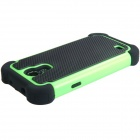 2 in 1 Sports Ball Skin Plastic & TPU Protective Case for Samsung Galaxy S4 Mini - Green + Black