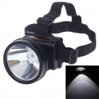 GEBANG GB-9500 5W 450LM 2-Mode High Light Waterproof Outdoor Headlamp - Black