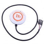HJ-007 High Precision Ublox NEO-6M GPS Module Built-in Compass GPS - White + Black