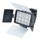 LED-1040A 2850lm 12-LED Video Light for Camera / Camcorder / No Color-temperature light - Black