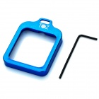 TOZ TZ111 Aluminum Alloy Lanyard Ring Mount for Gopro Hero 3 + - Deep Blue