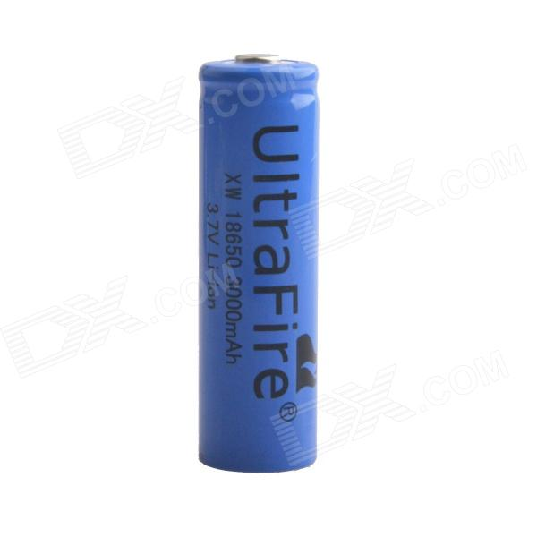 Ultra Fire AYA-215 3.7V 600mAh Rechargeable Lithium Ion 18650 Battery - Blue