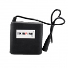 "Kinfire Waterproof 8.4V ""8800mAh"" Rechargeable 2-in-Series 4-in-Parallel Li-ion 8-18650 Battery Pack"