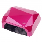 Maxine A023 Professtional Nail Sèche-12W CCFL et LED 28W UV Nail Lamp - Deep Rose (100 ~ 240V/EU Plug)