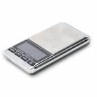 FLY Techology DS-16 Convenient Digital 1000g / 0.1g Jewel / Counting Scale - Blue + Silver