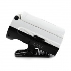 DP LED-753 2.5W Emergent 200lm 6500K 30-LED 3-Mode White Clip-on Lamp - White (90~240V)
