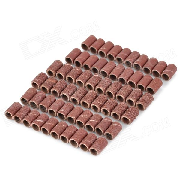 80# + 120# + 180# Polishing Tube for Dremel - Brown (60PCS)