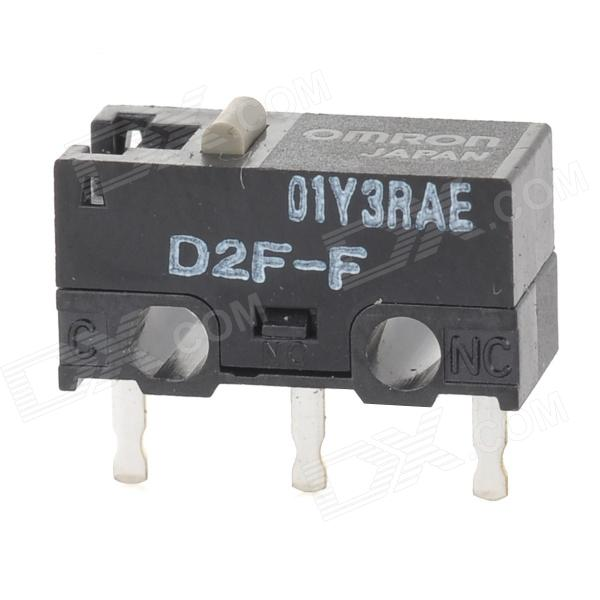 OMRON D2F-F Snap Action Switch - Black