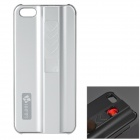 Protective ABS Case w/ Cigarette Lighting Function for IPHONE 5 / 5S - Silver