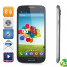 "JIAKE i9500W Android 4.2.2 Quad-Core WCDMA Smartphone w/ 5"" Screen, GPS and Wi-Fi - Black"