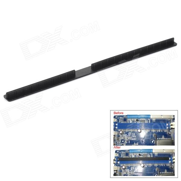 DIY Silicone DDR Anti-dust Plug Bar for Memory Module - Black