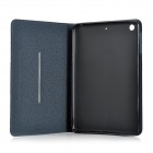 Matte Protective PU + Silicone Case w/ Stand for IPAD MINI / Retina IPAD MINI - Grey
