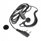Walkie Talkie Ear Hook Headset for  BaoFeng, TYT, WouXun, QuanSheng, Kenwood - Black