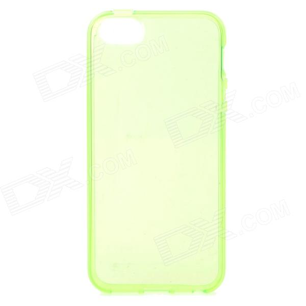 все цены на S-What Protective TPU Back Case for IPHONE 5 / 5S - Translucent Green онлайн