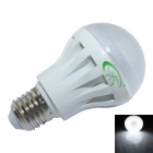 XinYiTong E27 5W 450lm 6500K 18 x SMD 2835 LED White Light Lamp Bulb - White + Transparent (85~265V)