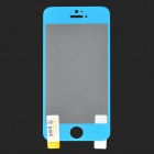GLASTO 9H Protective Tempered Glass Screen Protector for IPHONE 5 / 5S - Light Blue + Transparent