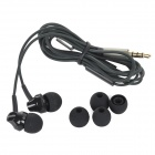 REMAX RM501 Stylish In-Ear Earphone w/ Mic for Cell Phone - Black