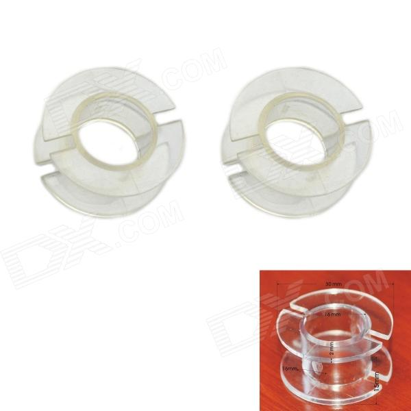 Jtron Outside Diameter 30mm Transparent Coil Skeleton / Inductance Skeleton - Transparent (2 PCS)