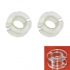 Jtron Diamètre extérieur 30mm Transparent Coil Skeleton / Squelette Inductance - Transparent (2 PCS)