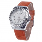 AODASI 4278L Stylish Wristwatch + Rhinestone Decoration Women's Quartz - Orange + Silver