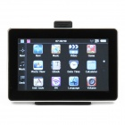 "Q1E 4.3"" Touch Screen GPS Navigator w/ Built-in 4GB + 4GB TF Card with Europe Maps - Black + Silver"