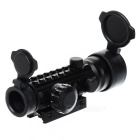 Tactical 2x42EG Dot Sight Range Finder Rifle Scope - Black (1 x CR2032)