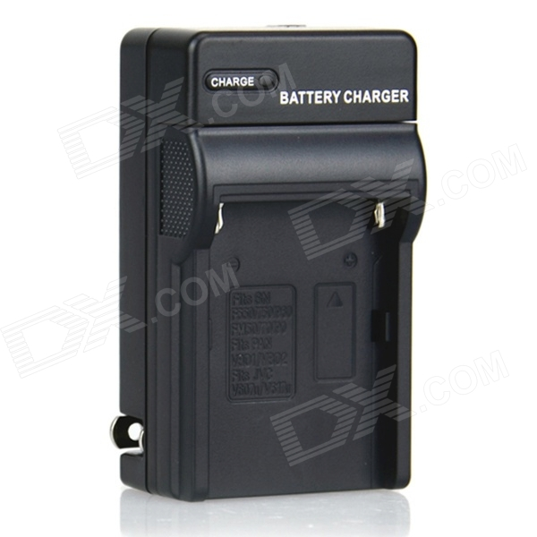 DSTE Battery Charger for Sony NP-FM30, FM50, FM55H, QM71D, QM91D / Panasonic VW-VBD1 Video Camera 1400mah camera battery for sony np bg1 np fg1 dsc h3 dsc w70 bc csge bc csgd w30