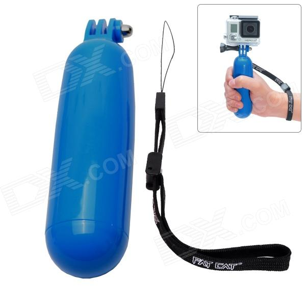Fat Cat M-BB5 Floaty Bobber Stabilizer Grip for Gopro Hero 4/ 3+ / 3 / 2 / 1 / SJ4000 - Blue