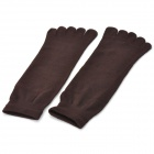 Men's Cute Comfortable Cotton Tip-toe Socks - Multicolored (6 PCS)